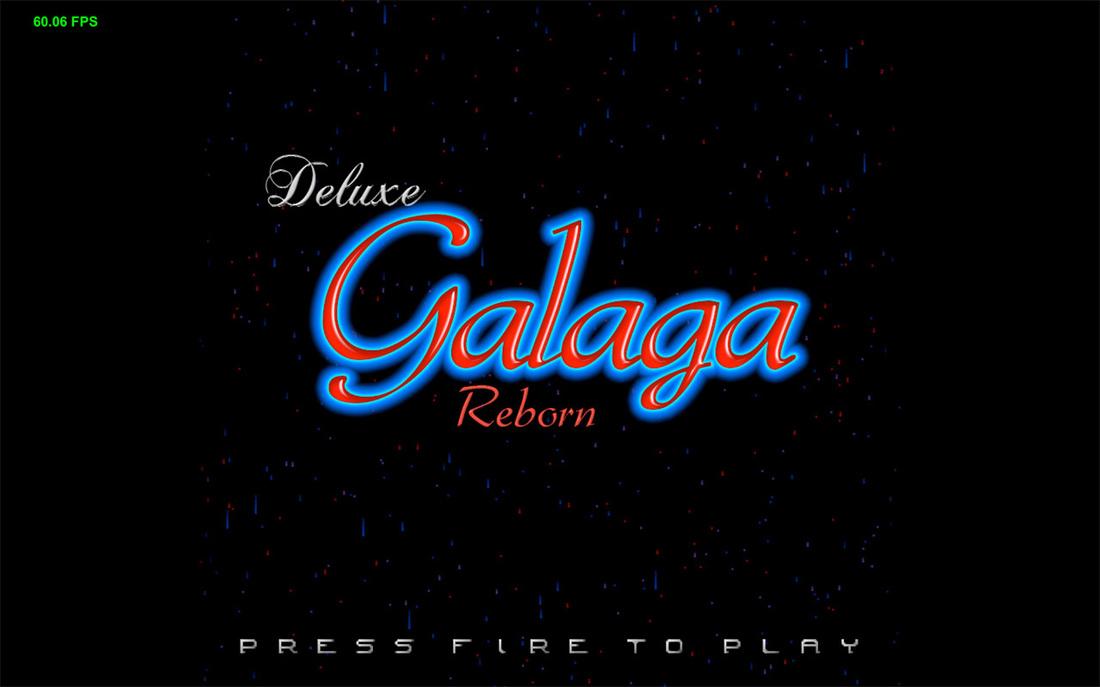EMV Software - Deluxe Galaga Reborn